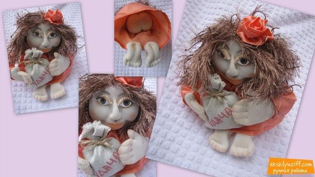 Куклы - кукла на удачу   Eksklyuziff.com