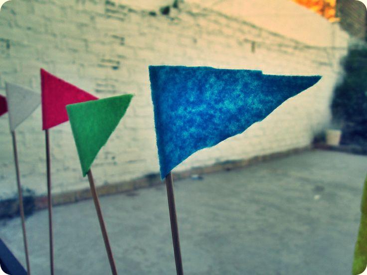 Decoración de #fiestas - Banderines