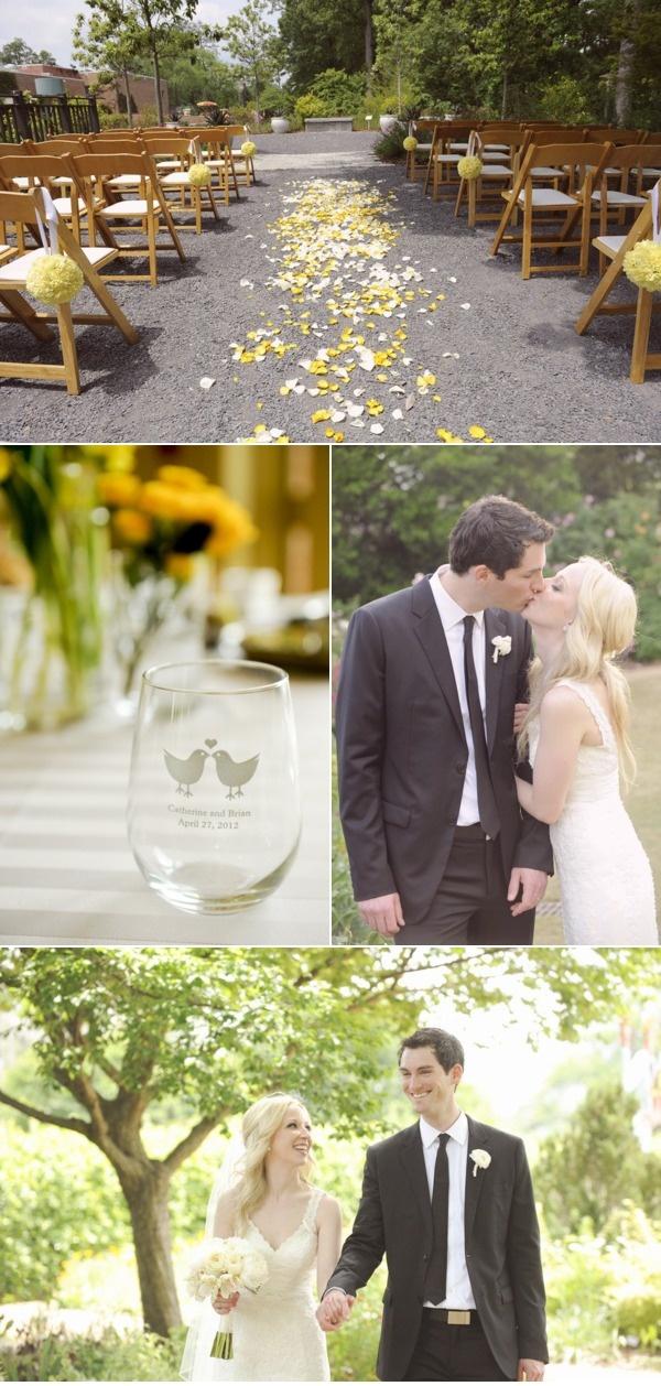 Atlanta Botanical Garden Wedding By Something Pretty Photography Gardens Cute Cups And Yellow