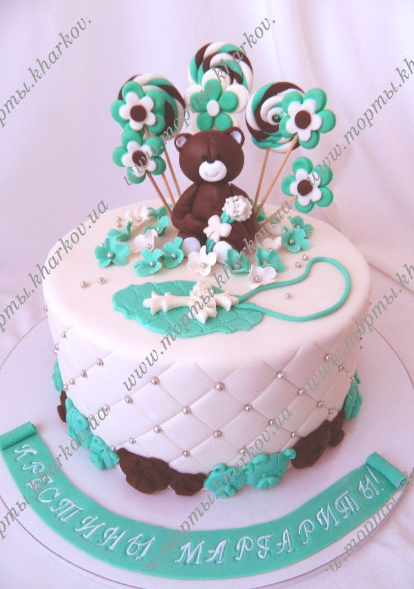 Креативная надпись на торте в день рождения фото 2