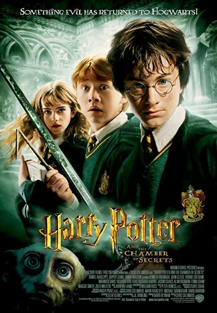Harry Potter And The Chamber Of Secrets 2002 Harry Potter Ron And Hermione Chamber Of Secrets Harry Potter Ron