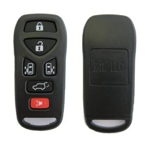 2004-2009 NISSAN QUEST 6 BUTTON 2 SLIDING DOOR KEYLESS ENTRY KEY REMOTE REPLACEMENT CASE SHELL & RUBBER BUTTON PAD **CASE & PAD ONLY NO ELECTRONICS** + FREE DISCOUNT KEYLESS GUIDE by Nissan. Save 62 Off!. $18.95. This listing is for the vehicles mentioned in our key product features list only. Your remote will arrive in a bubble pack mailer to ensure a safe trip while in the mail.  Also included is our Discount Keyless guide and a business card in case you have any issues with your pro...