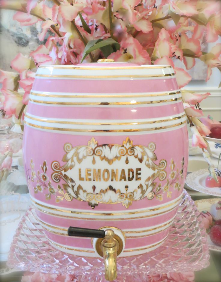 Pink Lemonade Dispenser...❤♥♡