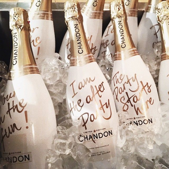 I'm the after party :)  Chandon