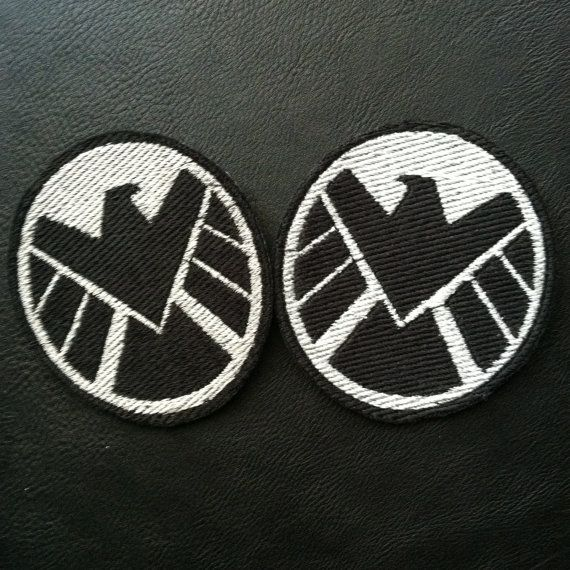 Avengers SHIELD Black Widow Cosplay Patch by QuidVis on Etsy, $10.00