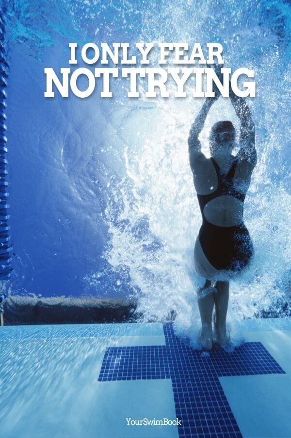 Swimming Motivational Poster 03