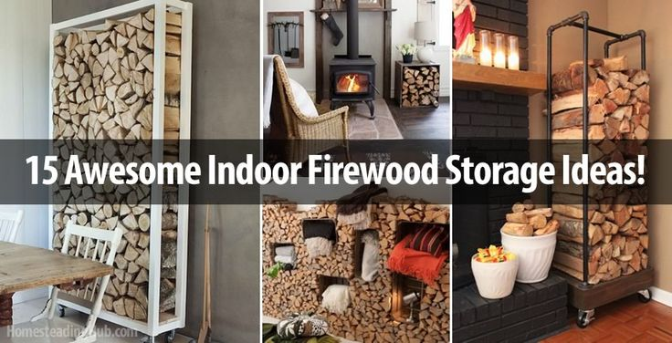 Creative Ways To Store Your Firewood This Autumn For