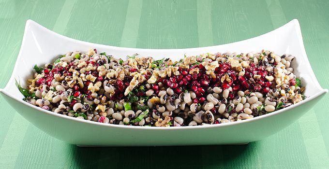 Börülce Salatası (Cevizli, Narlı, Susamlı)