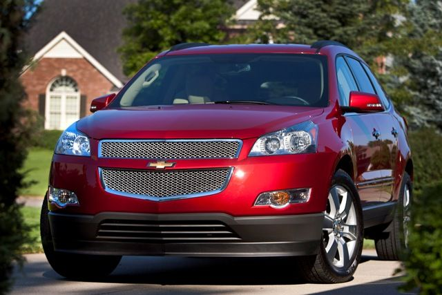The 2012 Chevrolet Traverse crossover utility, available at Crotty Chevrolet Buick, is the best value among large SUVs, according to USAA's Best Value vehicles list, which identifies the top 2012 automobiles in 16 categories that give consumers the most for the money.