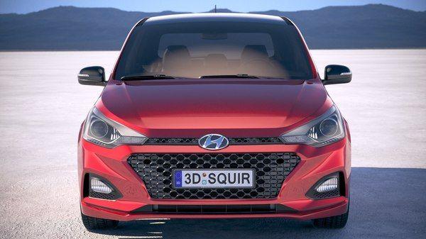 3d Hyundai I20 2019 Turbosquid 1289666 In 2020 Hyundai 3d Model Suv