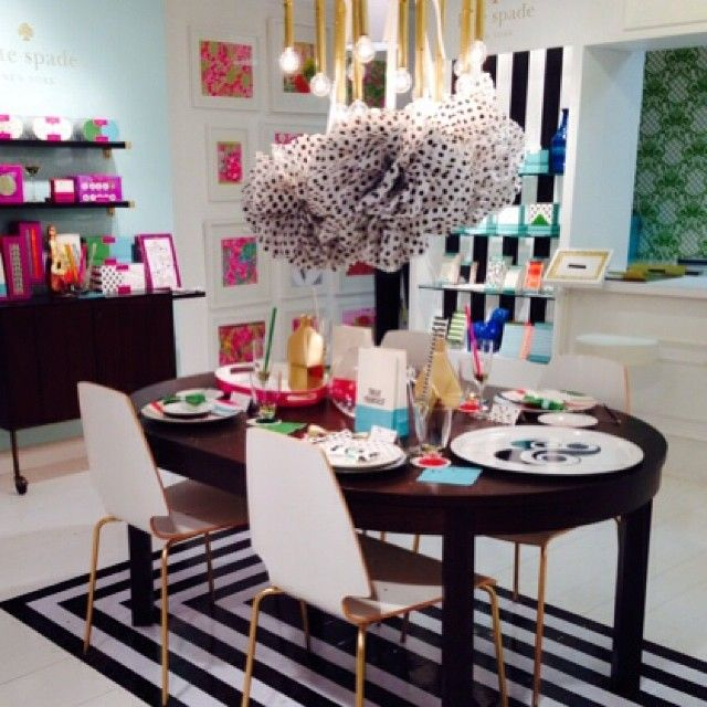 Kate Spade, Dining Rooms And Display On Pinterest