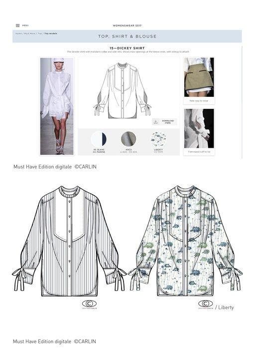 Carlin Group - La chemise vu par Carlin et l'Institut Marangoni - Tendance Prêt…