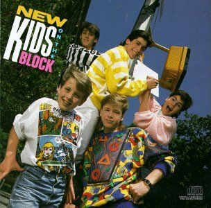 How can you stroll down 80's memory lane without New Kids on the Block! - Oh lord but I was crazy about them. LOL