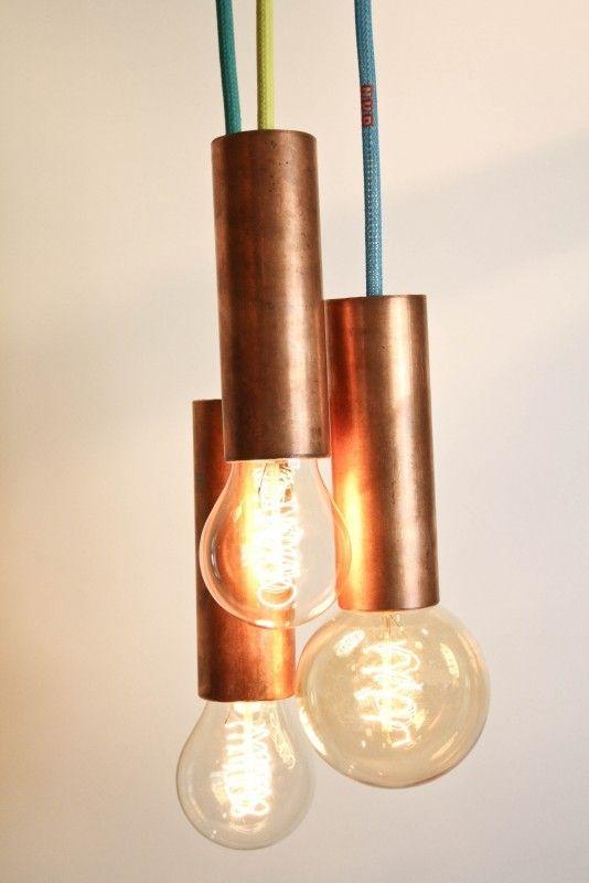 17 best lamper images on pinterest pendant lamps pendant lights nud collection aqua copper lights from nud gallery lightinglighting ideaslight pendantpendant aloadofball Choice Image