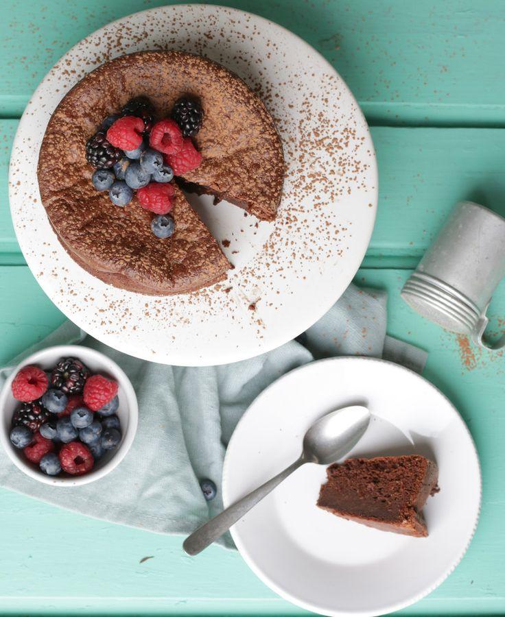 Bolo de chocolate (chocolate e ovos)
