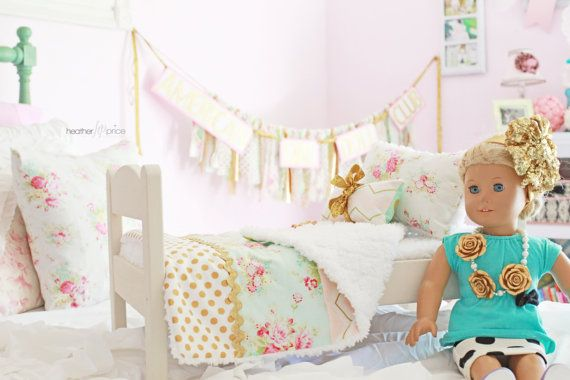 Patterns For American Girl Doll Bedding