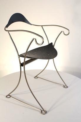 Clessidra chair, Riccardo Dalisi made by Zanotta 1987