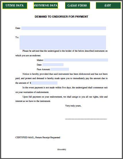 111 best Forms images on Pinterest Sample resume, Bill ou0027brien - demand letter