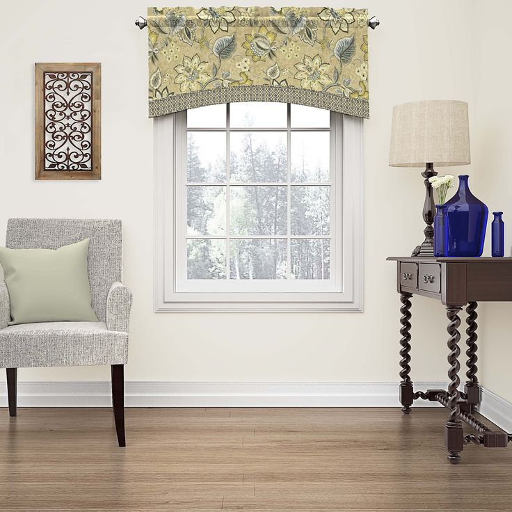 Refresh any room in your home with classically elegant window treatments by Waverly.