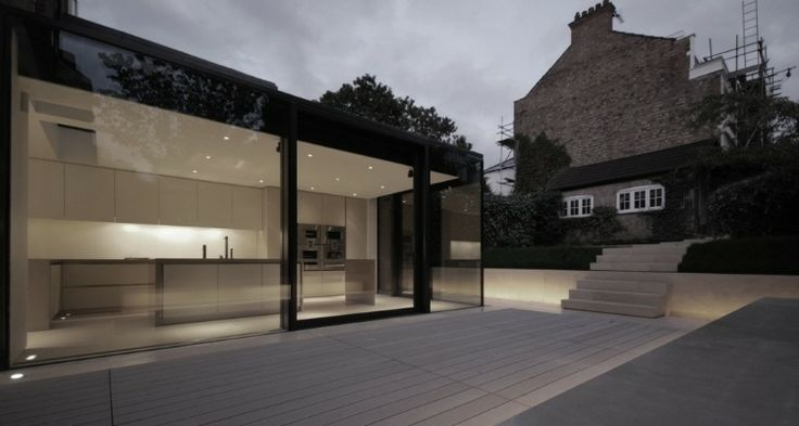 Rear House Extension by LBMV Architects