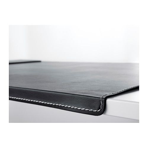 RISSLA Desk pad IKEA The bent front edge keeps the desk pad in place.                                                                                                                                                                                 More
