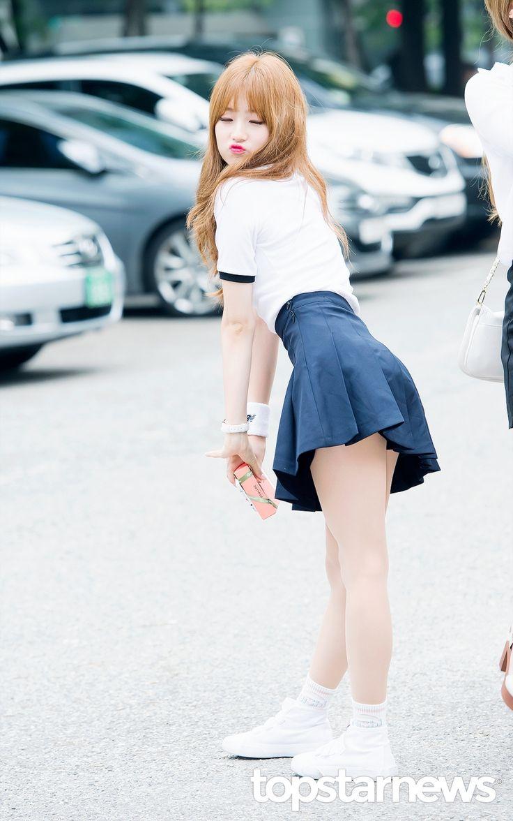 [HD포토] 아이비아이(I.B.I) 한혜리 짹짹이표 섹시 (뮤직뱅크 출근길) #topstarnews