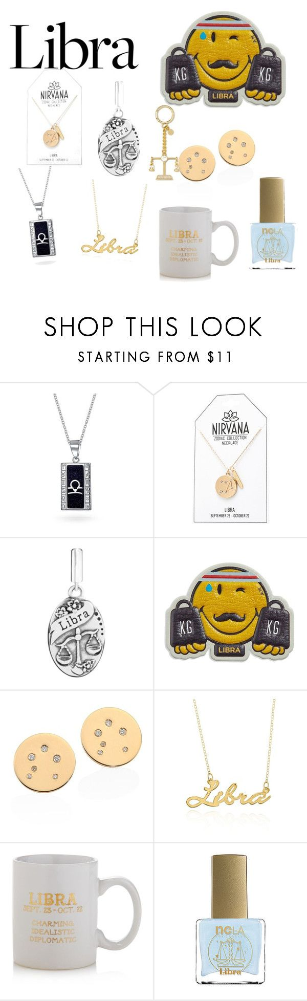 """""""Libra zodiac"""" by sparkle-i ❤ liked on Polyvore featuring Bling Jewelry, Anya Hindmarch, Belk & Co., Sparrow & Wren, ncLA and MICHAEL Michael Kors"""