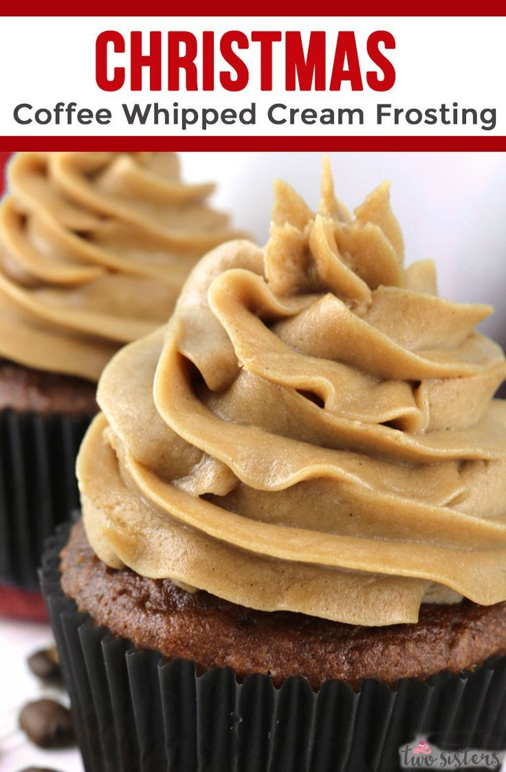 The Best Coffee Whipped Cream Frosting Recipe Frosting