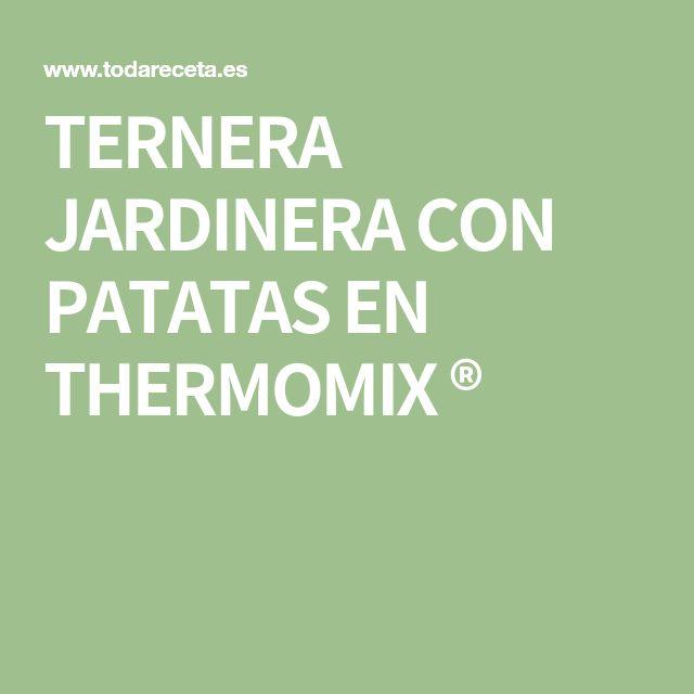 TERNERA JARDINERA CON PATATAS EN THERMOMIX ®