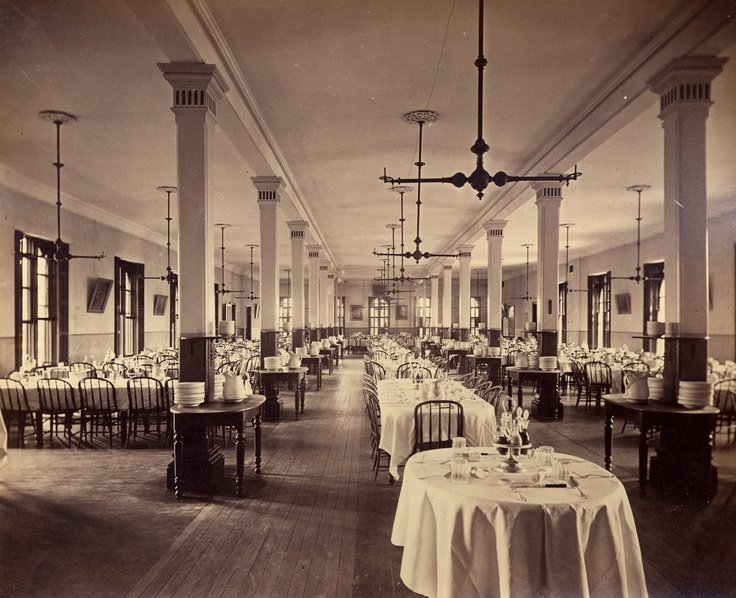 The Collegeu0027s Original Dining Hall I Main Building, Located Where The  Villard Room Is Now Part 83
