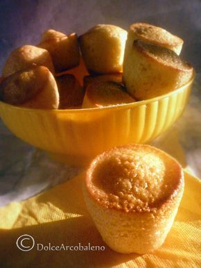 Muffin al limone, ricetta base.by Dolceaarcobaleno