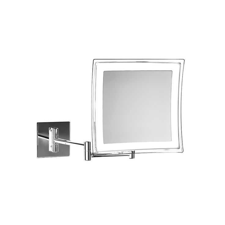 Stunning Discover the Decor Walther Miroir Cosm tique BS Chrome Lumineux Grossissement x at Amara