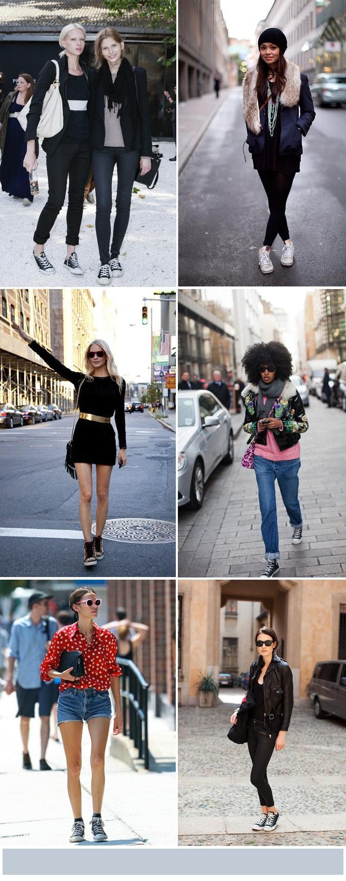 Zapatillas con estilo. #sneakers #moda #mujer