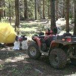 ATV camping at Taylor Park, Co