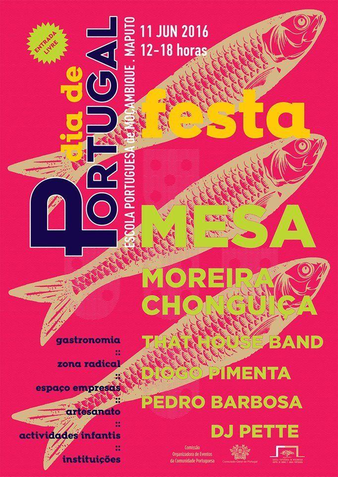 Dia 11 vamos estar nas comemorações do Dia de Portugal em Maputo! Quem estiver por perto está convidado. Quem não estiver que vá já tratar dos voos!  Aqui fica o link para o evento:   #MESAoficial #MESALoner #mozambique #maputo #diadeportugal