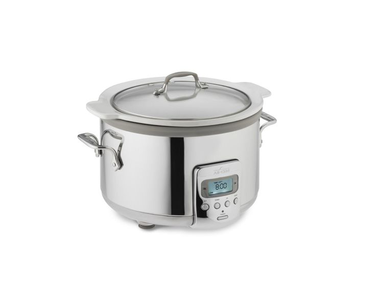 All-Clad 4-Qt. Slow Cooker with Ceramic Insert:
