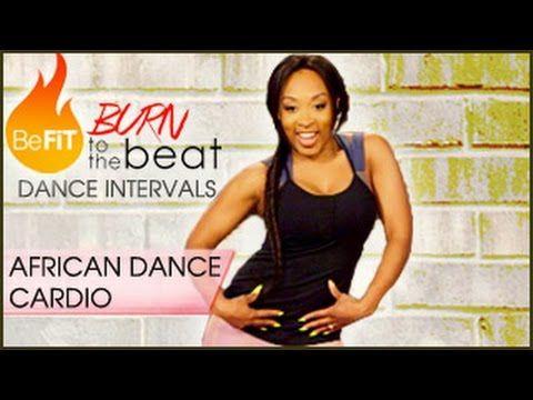 Burn to the Beat Dance Intervals: African Dance Cardio Workout- Keaira LaShae - YouTube