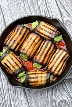 Eggplant Cannelloni - gluten free, grain free, dairy free, vegan   Every Last Bite
