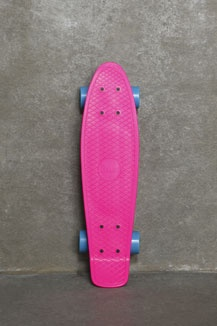 Penny Original 22 Inch Pink And Blue Skateboard