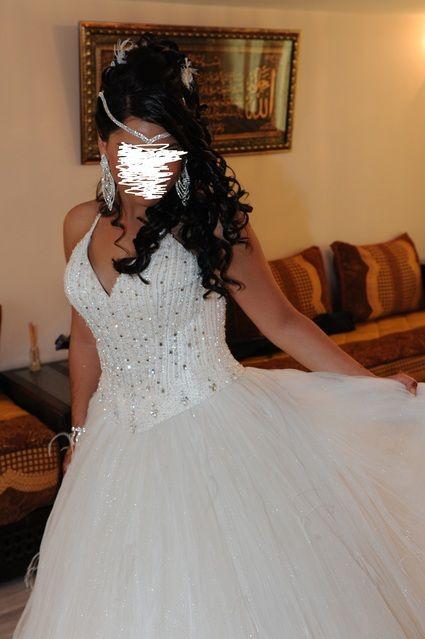 Robe de mariée Kelly star très originale d'occasion