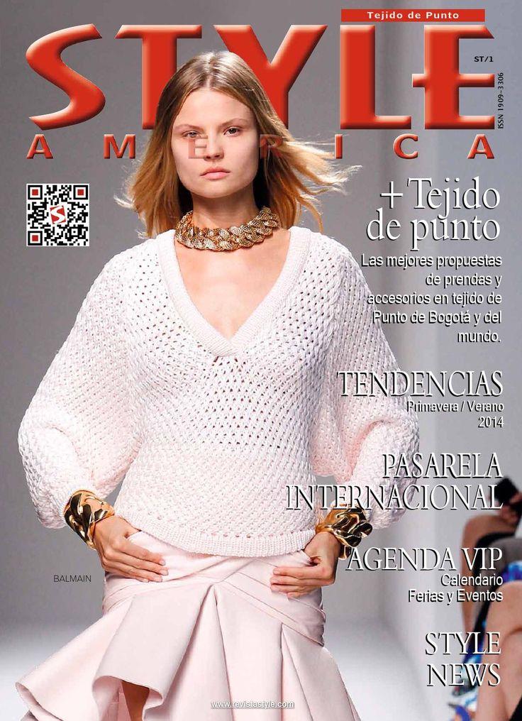 Revista STYLE AMERICA Tejido de Punto, las mejores propuestas de prendas de vestir y accesorios en Tejido de Punto