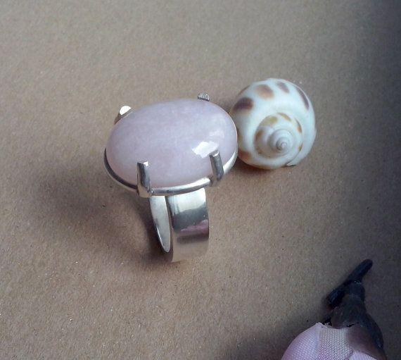 Handmade Ring Quartz and sterling silver TDR-75 by TommyDark