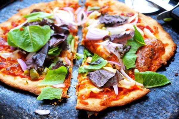 Whole Wheat & Vegetable Pizza #alittlefood