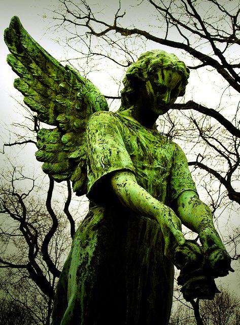 Image result for big angel in cemetery