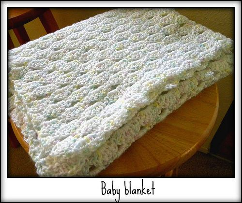 Helby's Hatch: Baby blanket - Arcade Stitch how-to