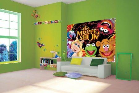 The Muppet Show - fototapeta o wymiarach 368x254 cm  Gdzie kupić? http://www.eplakaty.pl/produkt/The-Muppet-Show-fototapeta-P8-4-014