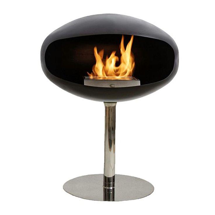 top3 by design - Cocoon Fires - cocoon terra pedestal black