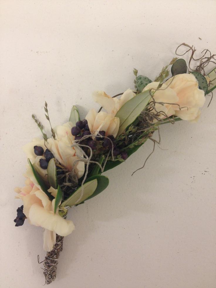 Blomstersmykke brud