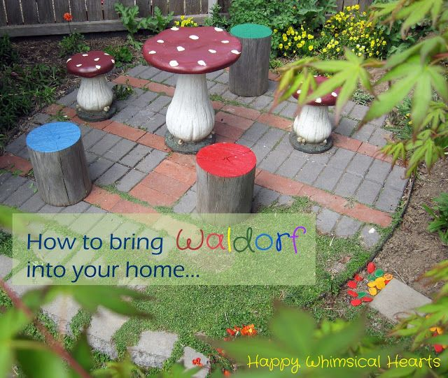 Happy Whimsical Hearts: How to bring Waldorf into your home... a series