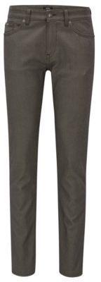 HUGO BOSS Delaware Slim Fit, Birdseye Cotton Jeans 32/34 Open Green